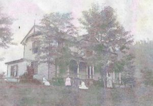 Old picture of the Orchard House